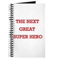 The Next Great Superhero Journal