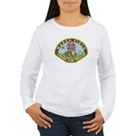 March Field Fire Women's Long Sleeve T-Shirt