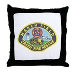 March Field Fire Throw Pillow