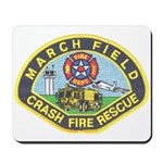 March Field Fire Mousepad