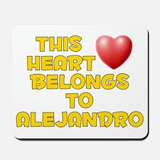 This Heart: Alejandro (D) Mousepad