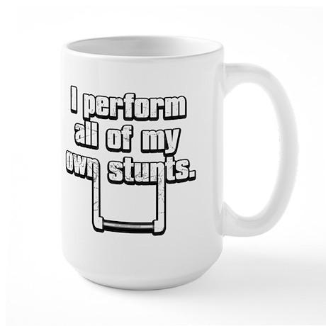 Stunts... Large Mug