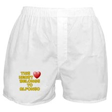 This Heart: Alfonso (D) Boxer Shorts