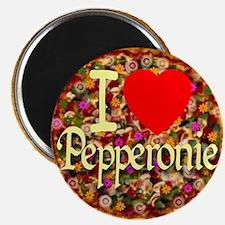 I (Heart) Pepperonie Magnet