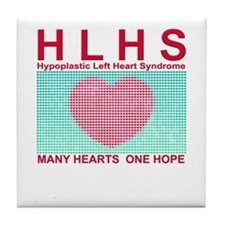 HLHS SUPPORT Tile Coaster