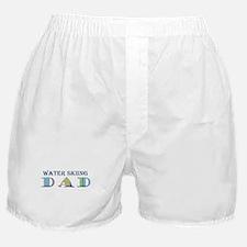 Water Skiing Dad Boxer Shorts