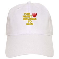 This Heart: Alva (D) Baseball Cap