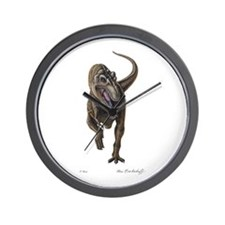 T-Rex ~ Dinosaur ~ Wall Clock