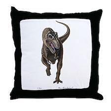 T-Rex ~ Dinosaur ~ Throw Pillow