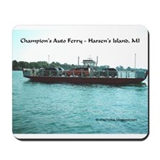 Harsens Island Ferry Mousepad