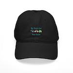Uncle Triathlete Triathlon Black Cap