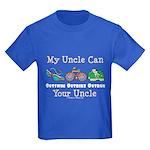 Uncle Triathlete Triathlon Kids Dark T-Shirt