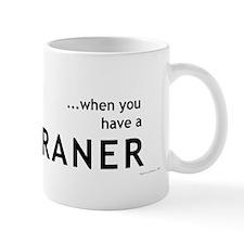 Who needs a sippy cup... Mug (Black)