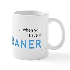 Who needs a sippy cup... Mug (Blue)