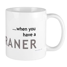 Who needs a sippy cup... Mug (Gray)