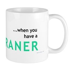 Who needs a Sippy Cup... Mug (Green)