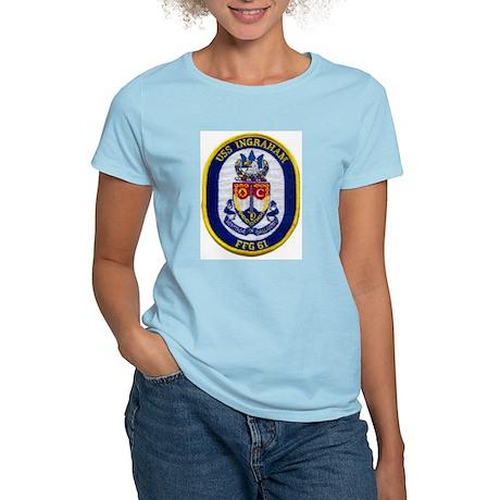 USS INGRAHAM Women's Light T-Shirt