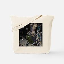 Semi Glow Guitar Tote Bag