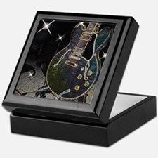 Semi Glow Guitar Keepsake Box