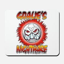 Soccer Goalie's Nightmare Mousepad
