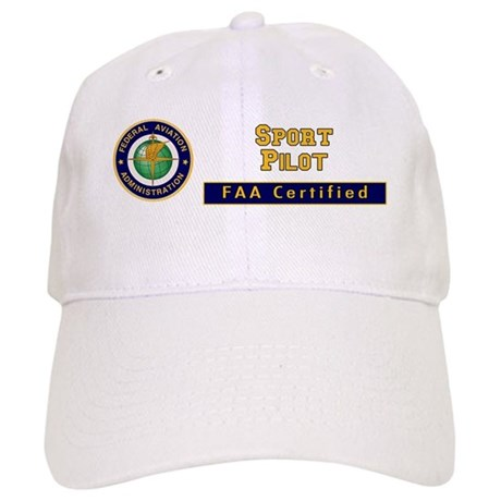 FAA Certified Sport Pilot Cap