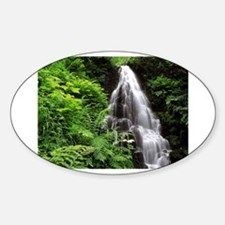 Fairy Falls Oval Decal