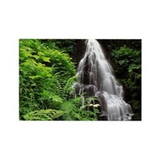 Fairy Falls Rectangle Magnet