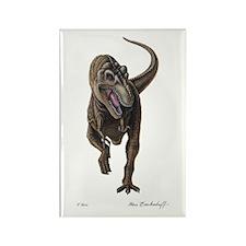 T-Rex ~ Dinosaur ~ Rectangle Magnet