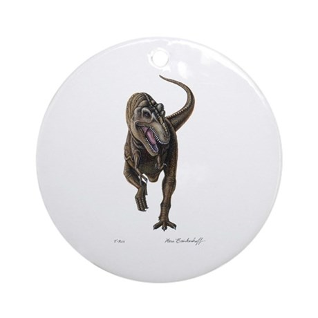 T-Rex ~ Dinosaur ~ Ornament (Round)