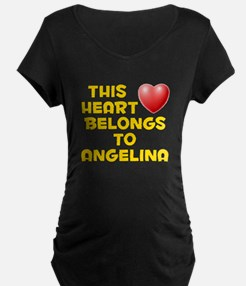 This Heart: Angelina (D) T-Shirt