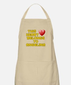 This Heart: Angelina (D) BBQ Apron