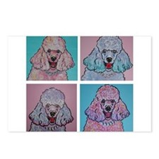 Crazy Poodles Postcards (Package of 8)