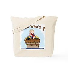 Chocolate Mud First Birthday Tote Bag