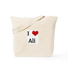 I Love Ali  Tote Bag