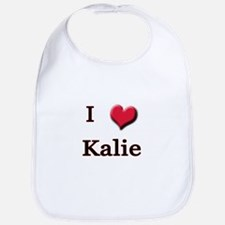 I Love (Heart) Kalie Bib