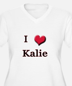 I Love (Heart) Kalie T-Shirt