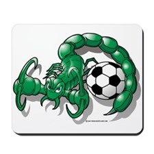 Sting Soccer Scorpion Mousepad