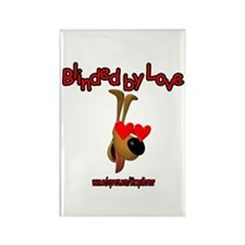 BLINDED BY LOVE Rectangle Magnet
