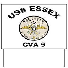 USS Essex CVA-9 Yard Sign