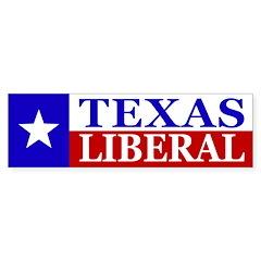Texas Liberal (bumper sticker)