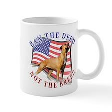 Ban the deed not the breed de Mug