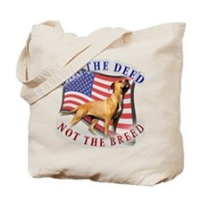 Ban the deed not the breed de Tote Bag