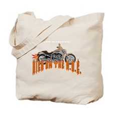I'm Riding High On The Hog Tote Bag