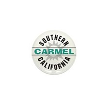 Carmel California Mini Button