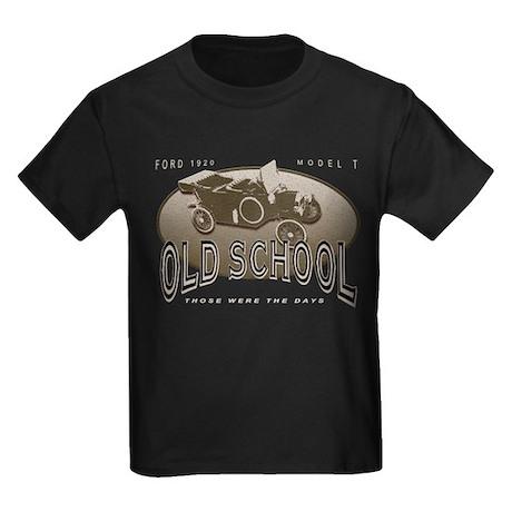 Ford 1920 Model T - Those Wer Kids Dark T-Shirt