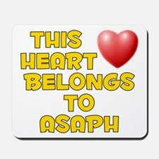 This Heart: Asaph (D) Mousepad