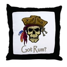 Got Rum? Throw Pillow
