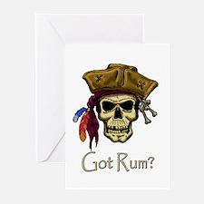 Got Rum? Greeting Cards (Pk of 20)
