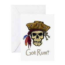Got Rum? Greeting Card