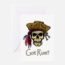 Got Rum? Greeting Card